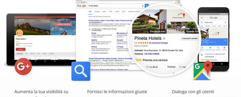 Google My Business, come funziona